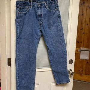Men's Levi's Blue Jeans 38x30 38w  505